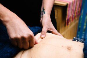 C Section Scar Tissue Post Natal Massage
