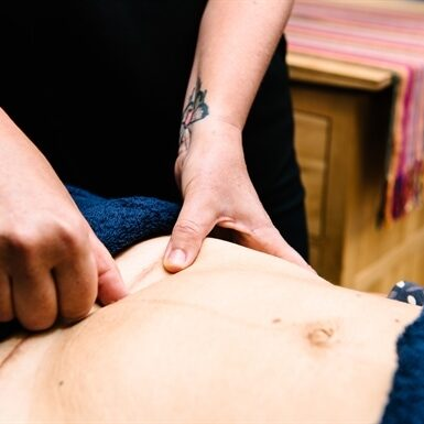 C Section Scar Tissue Massage
